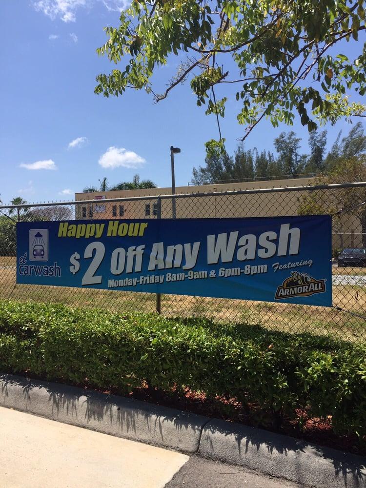 El Car Wash: 6901 Bird Rd, Miami, FL