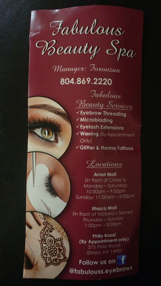 Fabulous Eyebrows Eyebrow Services 40 Catherwood Rd Ithaca Ny