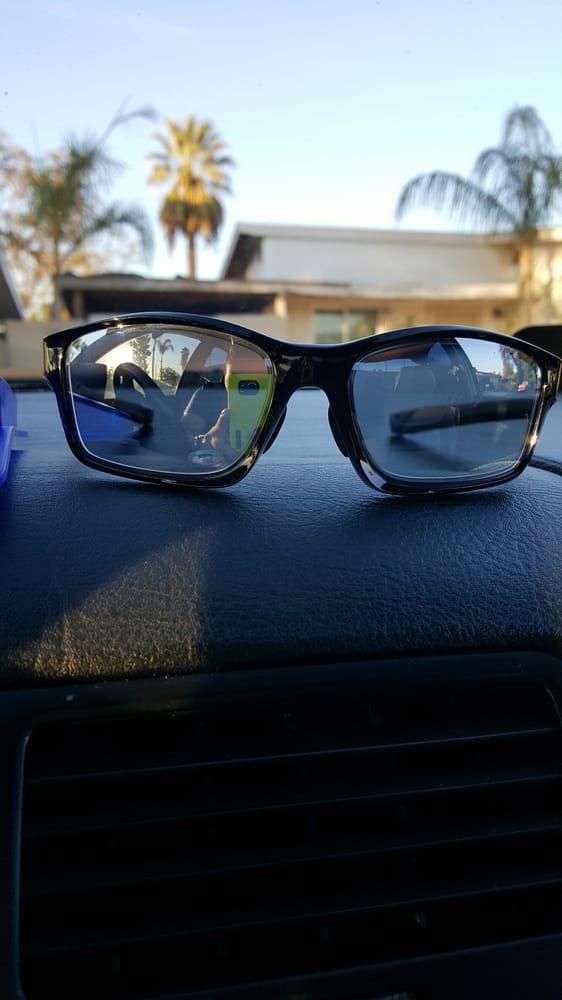 3eb8c9c98c Oakley chainlink prescription solid black mirror. - Yelp
