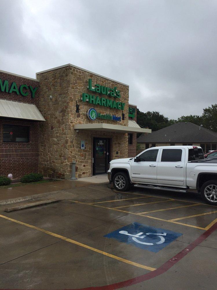 Laura's Pharmacy: 232 W Main St, Azle, TX