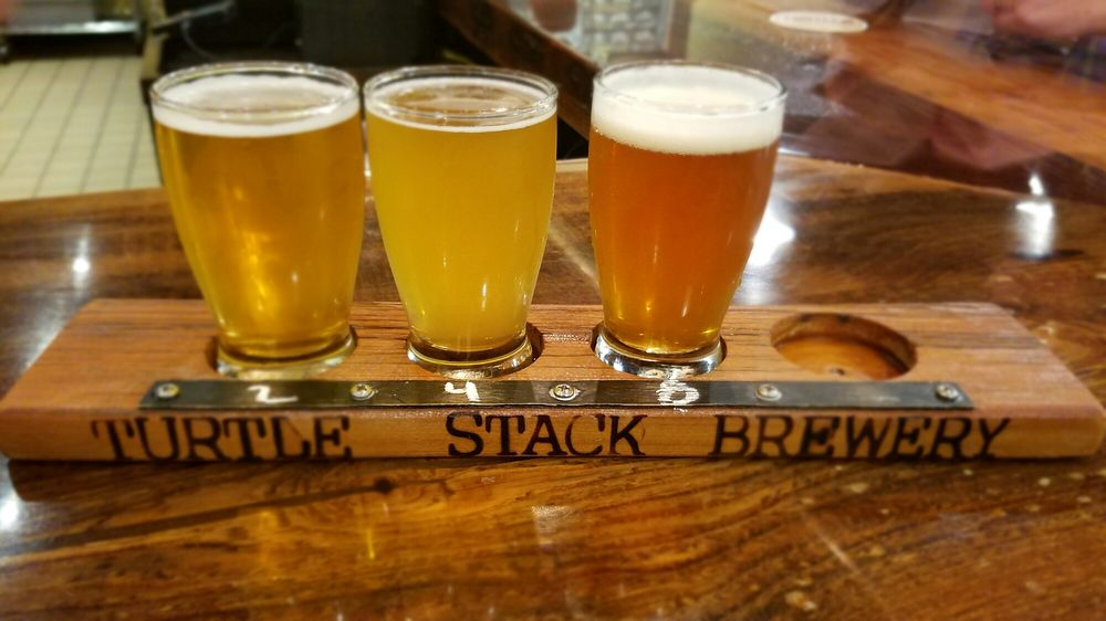 Food from Turtle Stack Brewery