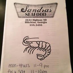 Sandra S Seafood Restaurant Ellabell Ga
