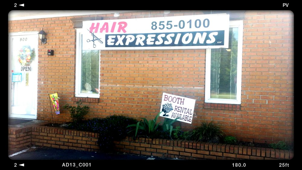 Hair Expressions: 900 S B St, Easley, SC