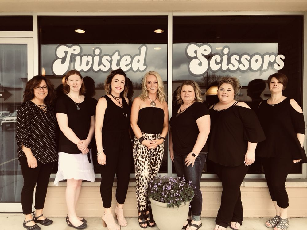 Twisted Scissors Salon & Spa: 541 Kenosha St, Walworth, WI