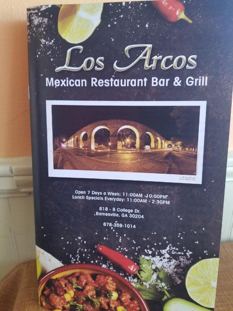 Los Arcos Mexican Resturant Bar & Grill: 818 College Dr, Barnesville, GA