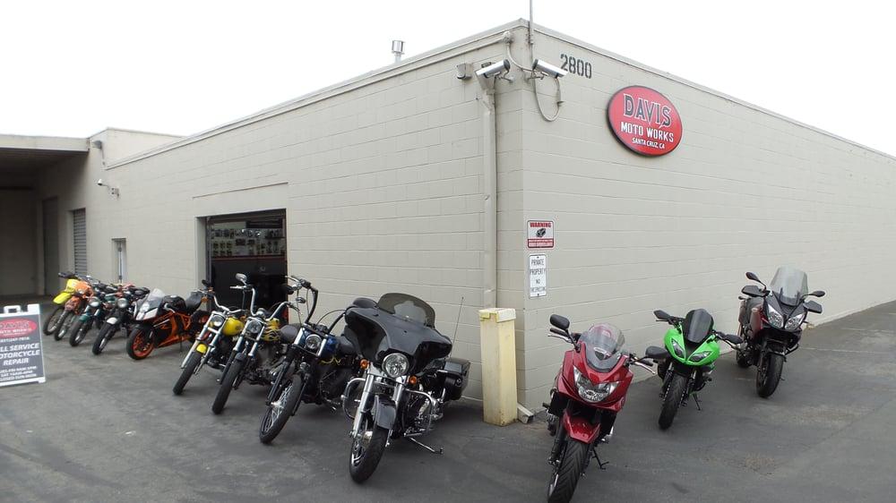Davis Moto Works - Santa Cruz