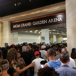 Photo Of Grand Garden Arena   Las Vegas, NV, United States. Poor Crowd