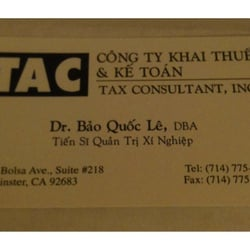 T a c 15 reviews tax lawyer accountants 10451 bolsa ave photo of t a c westminster ca united states business card colourmoves