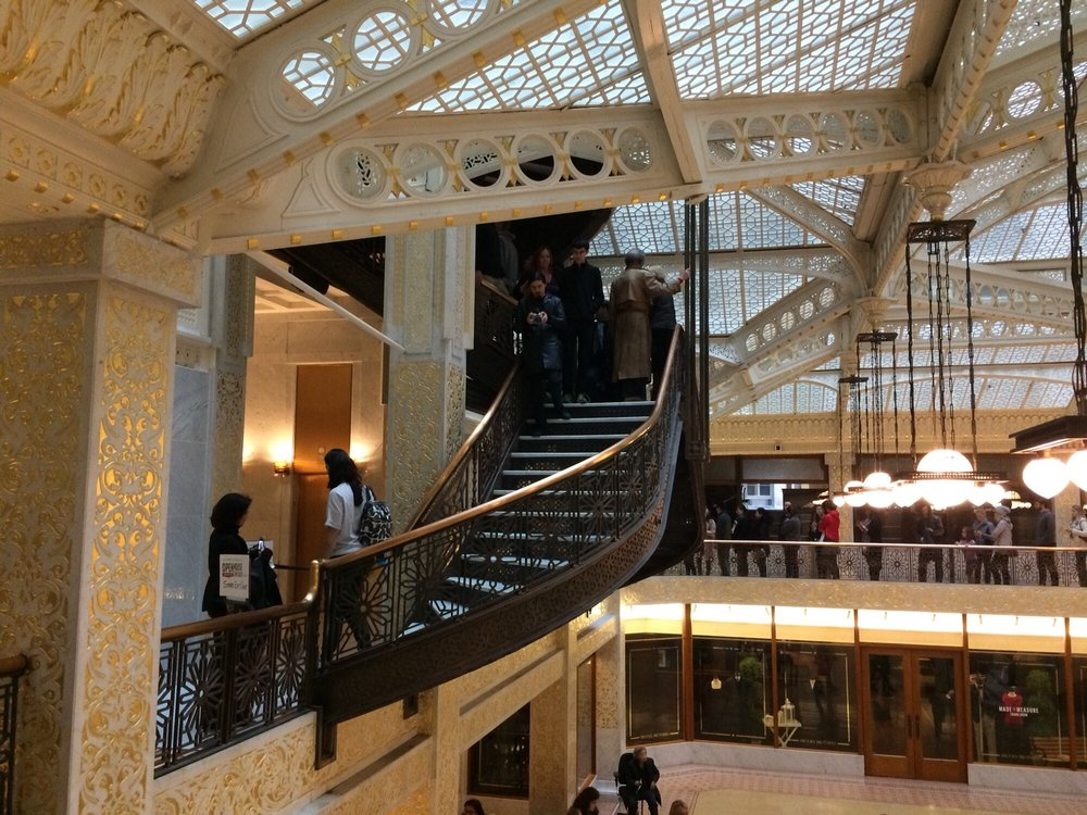 Photo Of The Rookery Building   Chicago, IL, United States. The Base Of