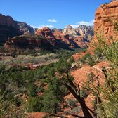 'Photo of Boynton Canyon Trail - Sedona, AZ, United States. Standing between Warrier rock and Kahina woman, looking over Boynton Canyon and the Enchantment Resort' from the web at 'https://s3-media4.fl.yelpcdn.com/bphoto/vVMu2t_nf5jqJerJiIfyUA/168s.jpg'
