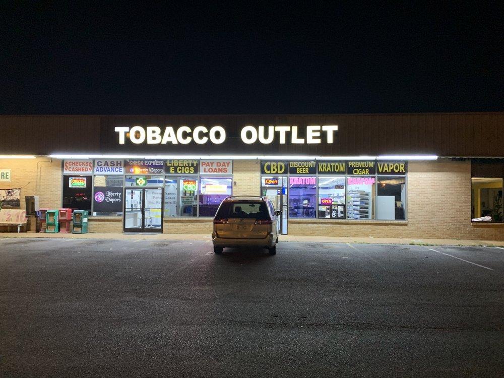 Tobacco Outlet: 1428 Goodman Rd W, Horn Lake, MS