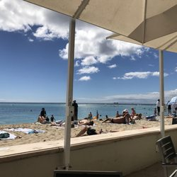 Photo Of The Beach Bar Honolulu Hi United States Ocean View