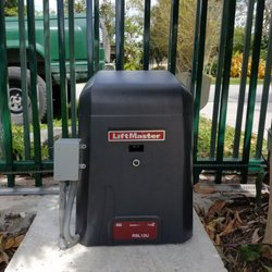 Photo Of The Gate Specialist Homestead Fl United States Liftmaster Rsl Slide