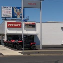 poulin's honda motorcycle dealership - motorcycle dealers - 513 s