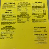 Victoria S Restaurant Tampa Fl Menu
