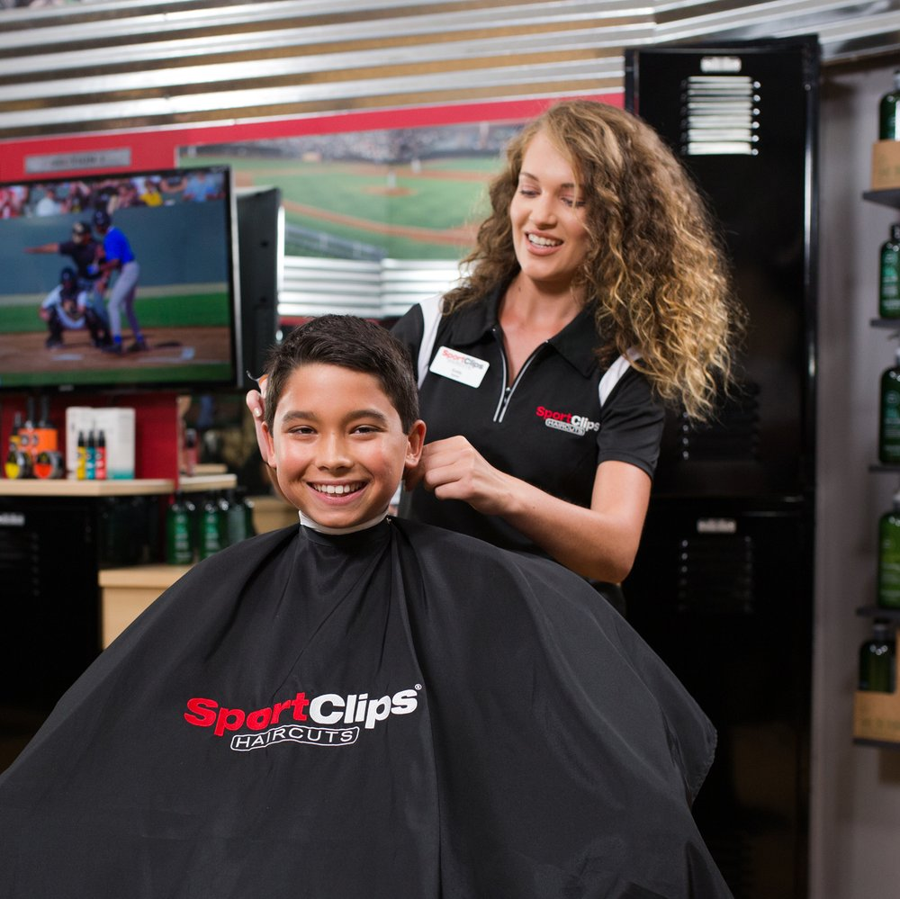 Photos For Sport Clips Haircuts Of Freehold Golden Corral Plaza Yelp