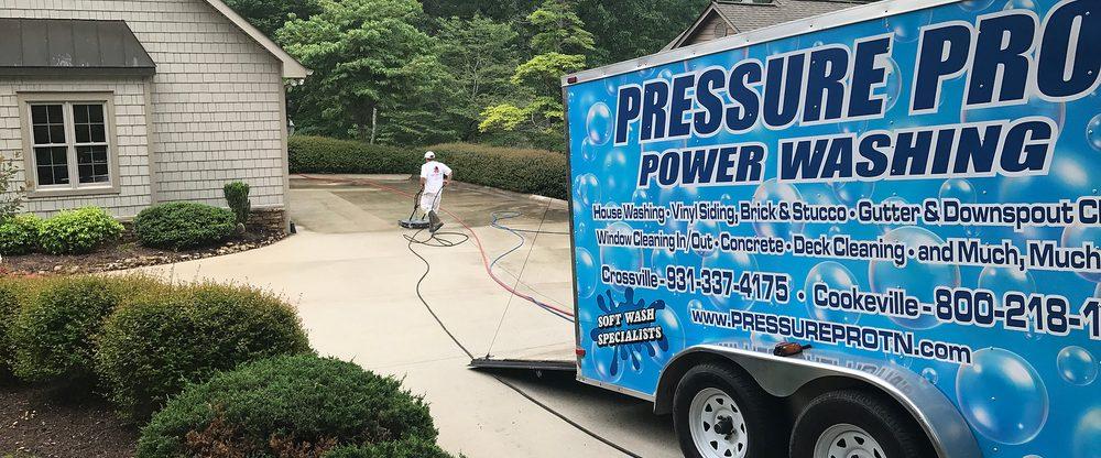 Pressure Pro Power Washing: 67 Wyatt Loop, Crossville, TN