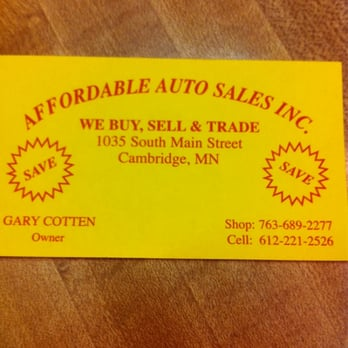 Photo of Affordable Auto - Cambridge, MN, United States