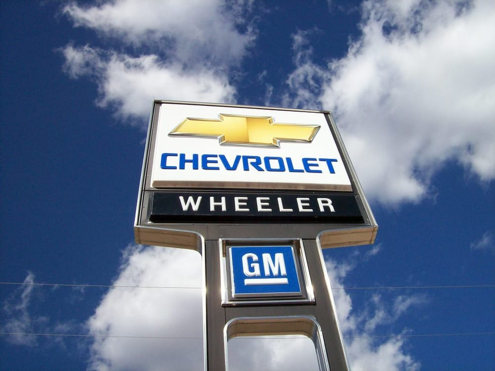 Wheeler Chevrolet: 5415 N Broadway Ave, Hinton, OK