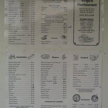 Virgil Restaurant In Raeford Nc