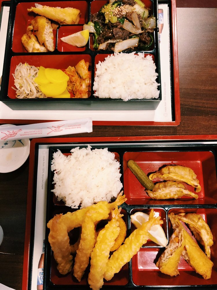 Food from Bowl & Box Japanese & Korean