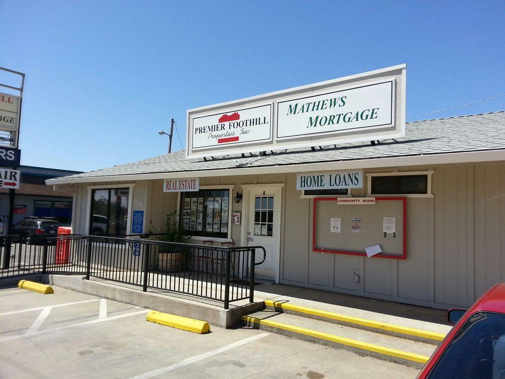 Mathews Mortgage: 3006 Hwy 49, Cool, CA