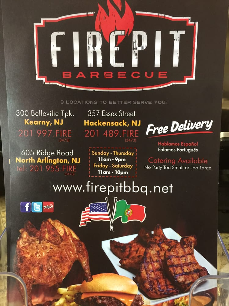 82 photos for Fire Pit BBQ - This Picture Of The Menu Illustrates The True Nature Of This