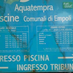 Piscina comunale aquatempra swimming pools viale delle olimpiadi empoli firenze italy - Piscina comunale empoli ...