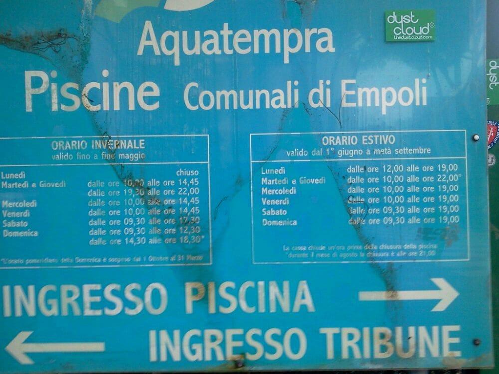 Foto su piscina comunale aquatempra yelp - Piscina comunale empoli ...