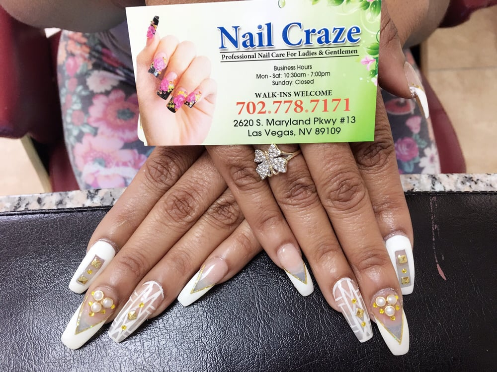 Nail craze 24 photos 30 reviews nail salons 2650 s for 24 nail salon las vegas