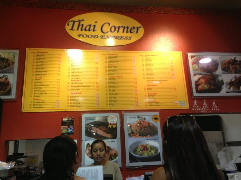 Thai Corner Food Express Los Angeles Ca