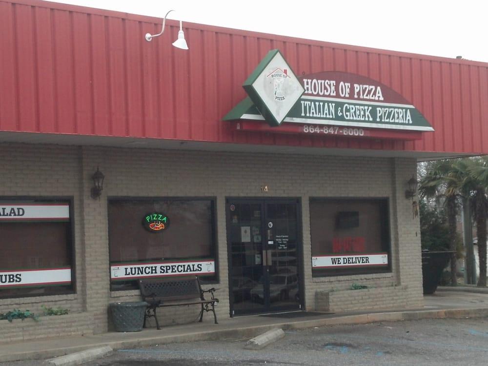 House Of Pizza: 14 North Hamilton St, Williamston, SC