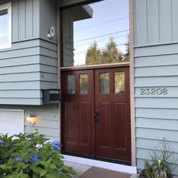 Photo of Jacku0027s Construction - Shoreline WA United States. Solid fir French doors & Jacku0027s Construction - Windows Installation - Shoreline WA - Phone ...