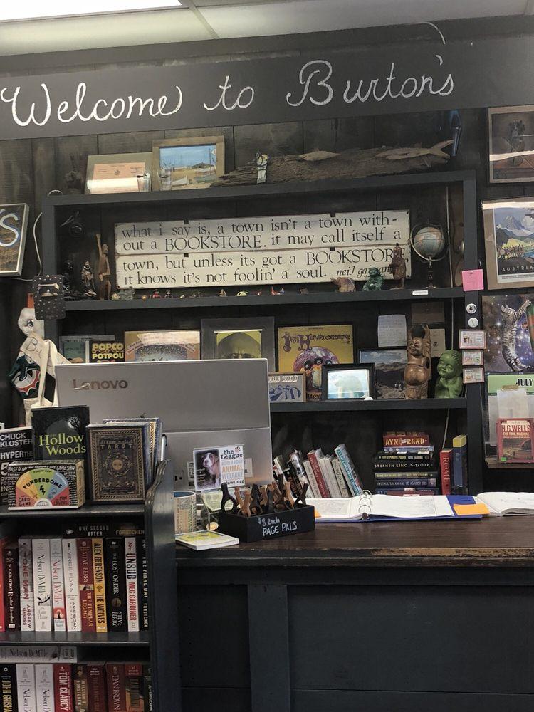 Burton's Book Store