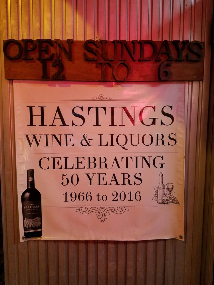 Hastings Wines & Liquors: 584 Warburton Ave, Hastings-On-Hudson, NY