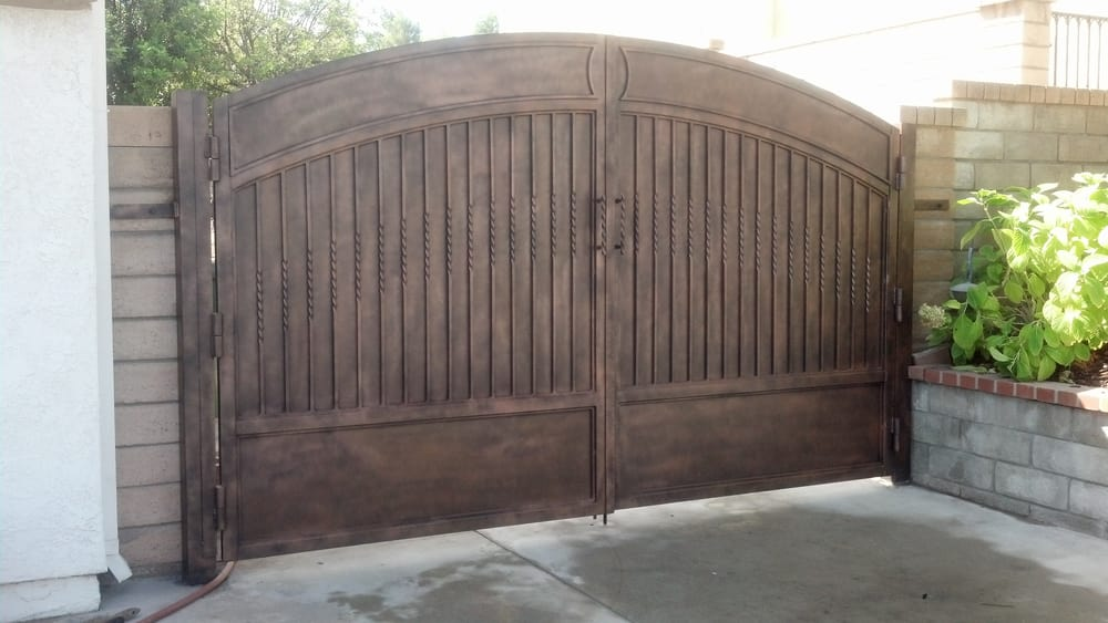 Solid Backing Driveway Gate Yelp