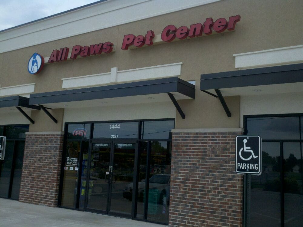 All Paws Pet Center: 2110 N Maize Rd, Wichita, KS