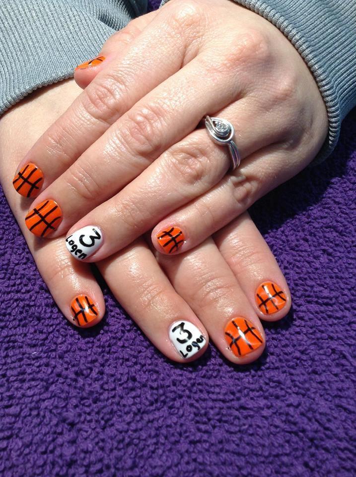 34 photos for Nails By LaVena - Gel Polish, Basketball Nail Art - Yelp