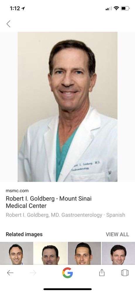 Goldberg Robert I MD - Gastroenterologist - 4300 Alton Rd