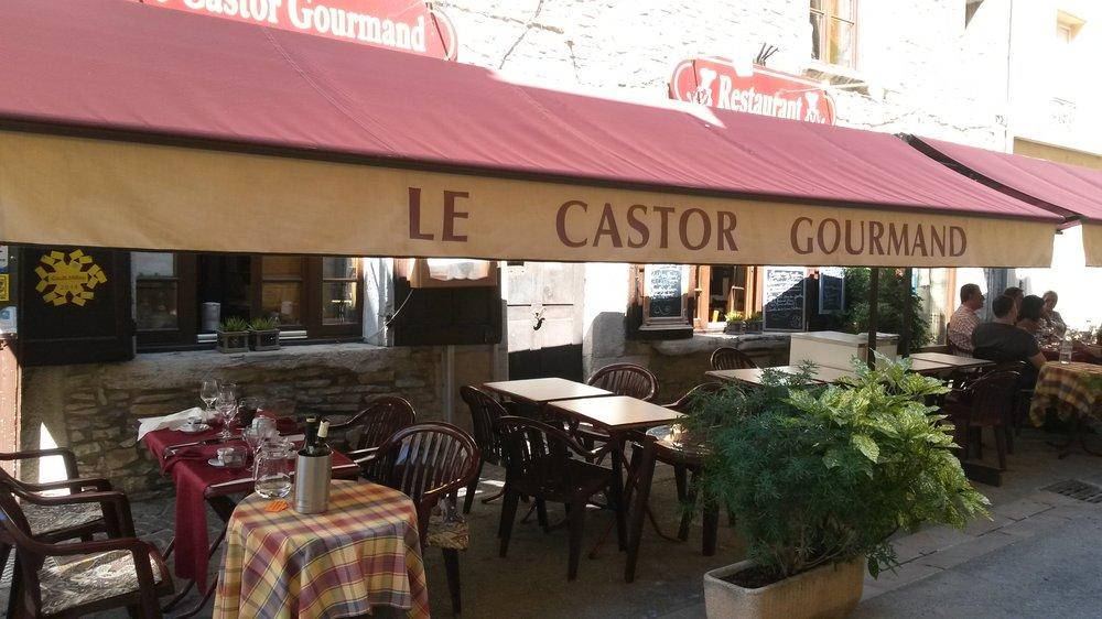 Le castor gourmand fran ais 14 rue de la porcherie for Restaurant cremieu