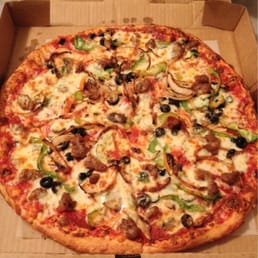 Photo of Ryans Famous Pizza and Subs - Beaufort, SC, United States. Supreme pizza large