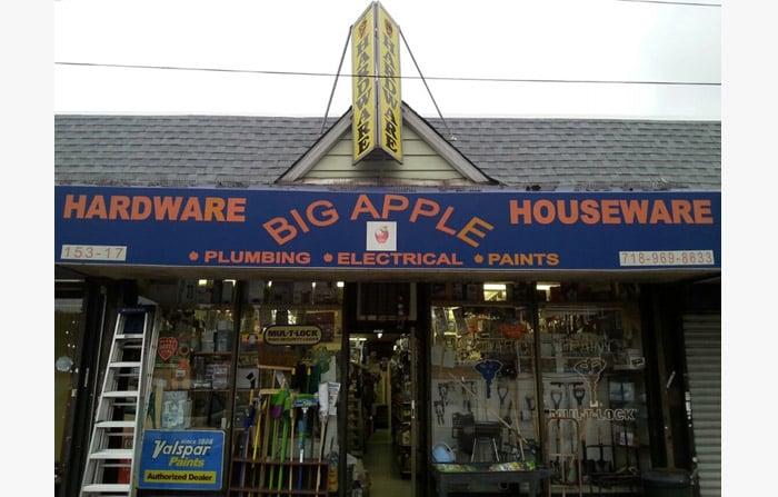 Big Apple Hardware & Houseware: 15317 Union Tpke, Flushing, NY