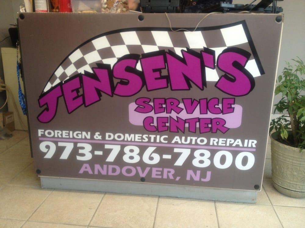 Jensen's Service Center: 172 Main St, Andover Township, NJ