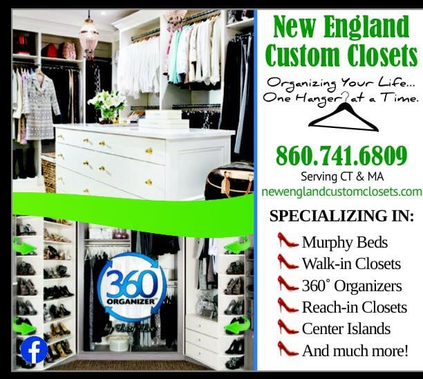 New England Custom Closets   Get Quote   Home Organization   Enfield, CT    Phone Number   Yelp