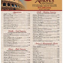 Photo Of Amore S Italian Restaurant Duncanville Tx United States