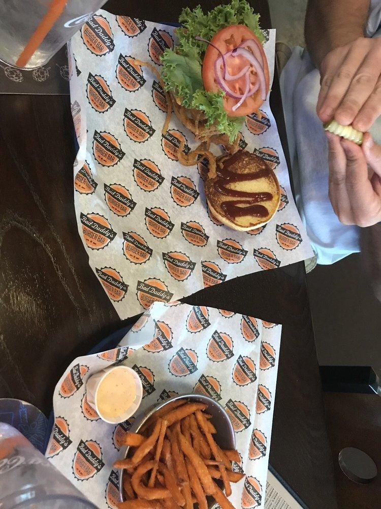 Food from Bad Daddys Burger Bar