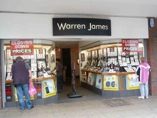 warren james jewellers shopping 172 high street walthamstow london storbritannien. Black Bedroom Furniture Sets. Home Design Ideas