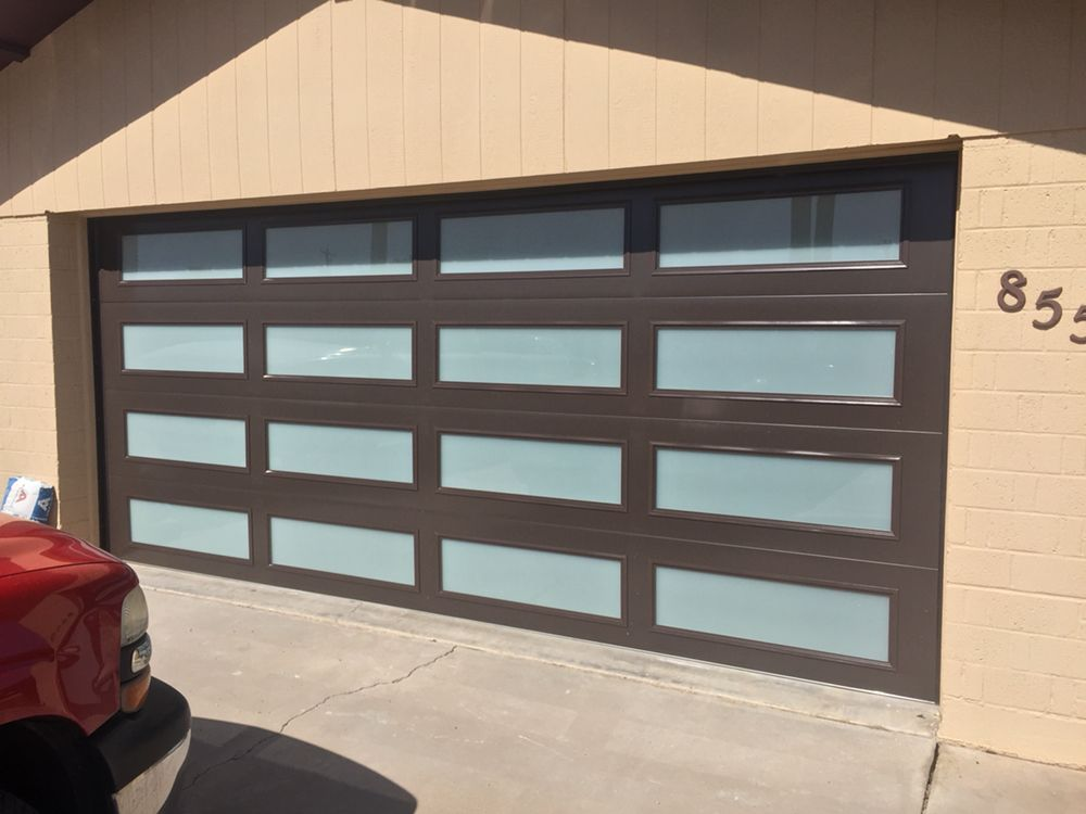 Photo Of Morning Star Garage Doors   Phoenix, AZ, United States. Beautiful  Frosted
