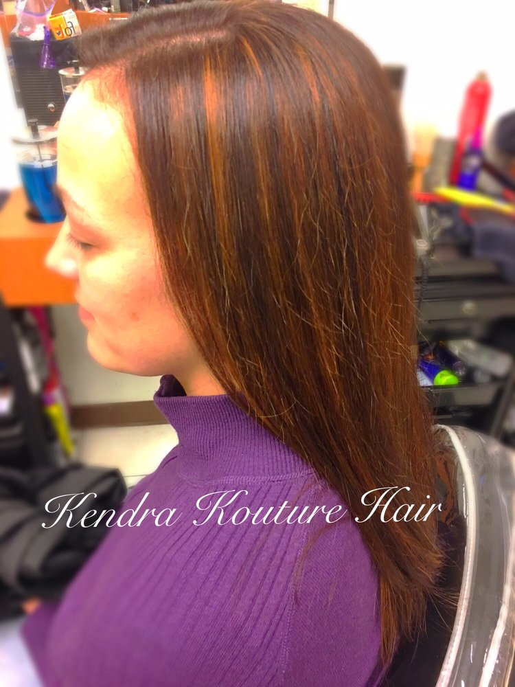 Double Dimensions Full Highlights Cut And Color Yelp