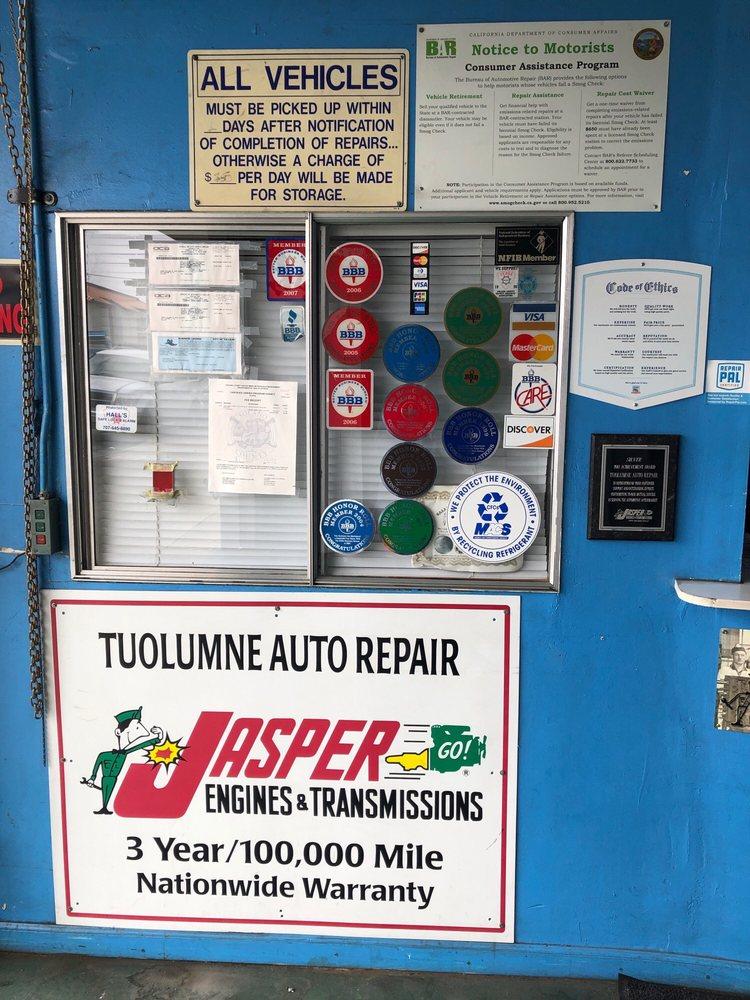 Tuolumne Auto Repair & Electric: 625 Tuolumne St, Vallejo, CA